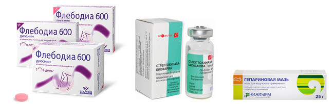 Лекарства от тромбов: эффективные таблетки, мази и инъекции